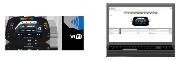 AiM MXG WiFi Verbindung